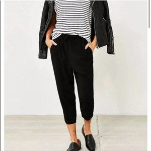 Urban outfitters Silence + Noise Black Joggers Med